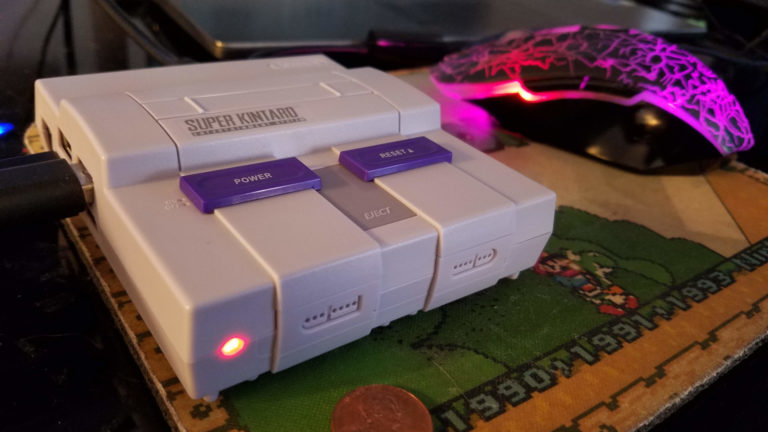 Custom made Retropie game console